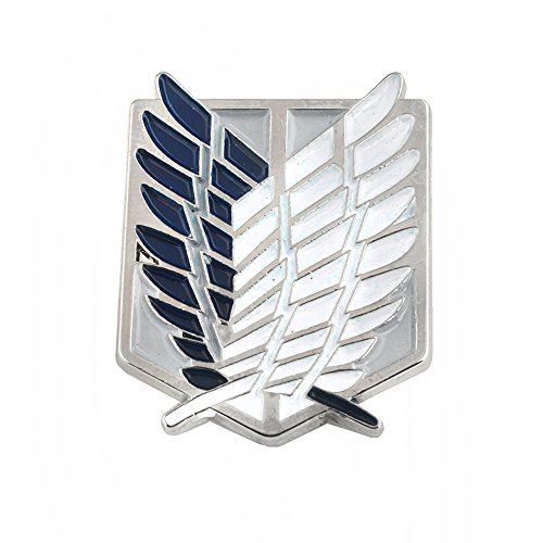 Attack on Titan Pin - Attack on Titan Wings of Liberty Pin - Attack on Titan Survey Corps Pin - Attack on Titan Wings of Freedom Pin]()