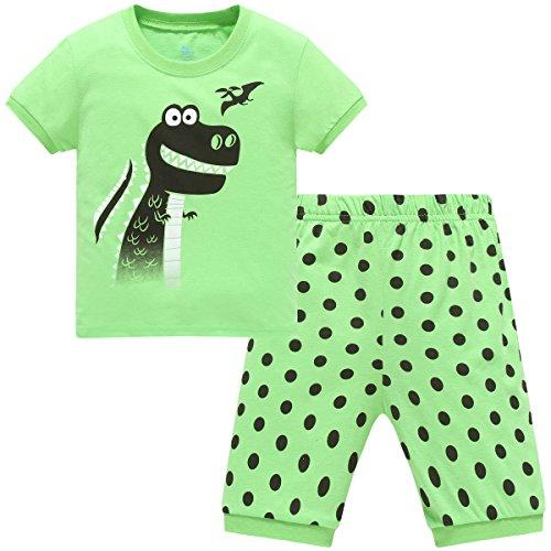 Hugbug Boys Dinosaur Pajamas 2 7T