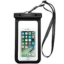 Spigen Universal Waterproof Case Pouch Dry Bag for iPhone 7 / 7 Plus / 6S / 6S Plus / Galaxy S7 / Galaxy S7 Edge / Pixel / LG / HTC / Nexus