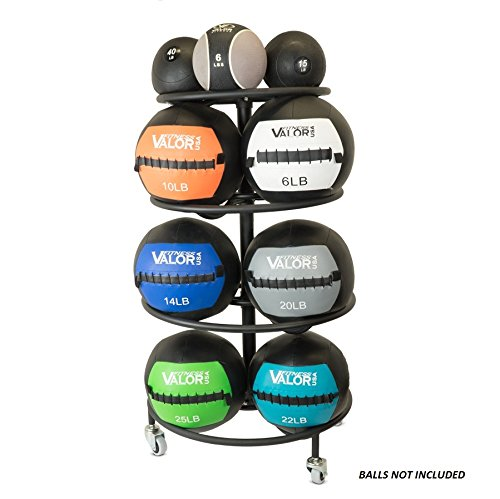 Valor Fitness Wall Ball Rack by Valor Fitness
