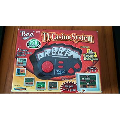 Techno Source TV Casino System Plug-in-play (2004): Toys & Games