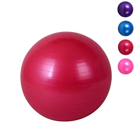 ZENWEN Bola De Yoga De Rayas 75 Cm Fitness Mujeres Espesar ...