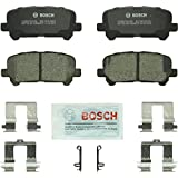 Bosch BC1281 QuietCast Premium Ceramic Rear Disc Brake Pad Set