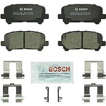 Bosch BC1281 QuietCast Premium Ceramic Rear Disc Brake Pad Set