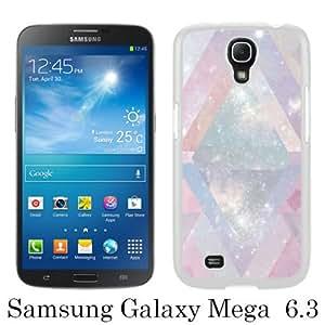 pretty nebula White Fashion Design Customized Picture Samsung Galaxy Mega 6.3 Case