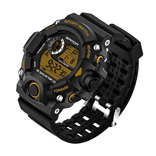 Wdnba Mens Watch Quartz Watches Military Watch Fashion Dive Men's Sport LED Digital -
