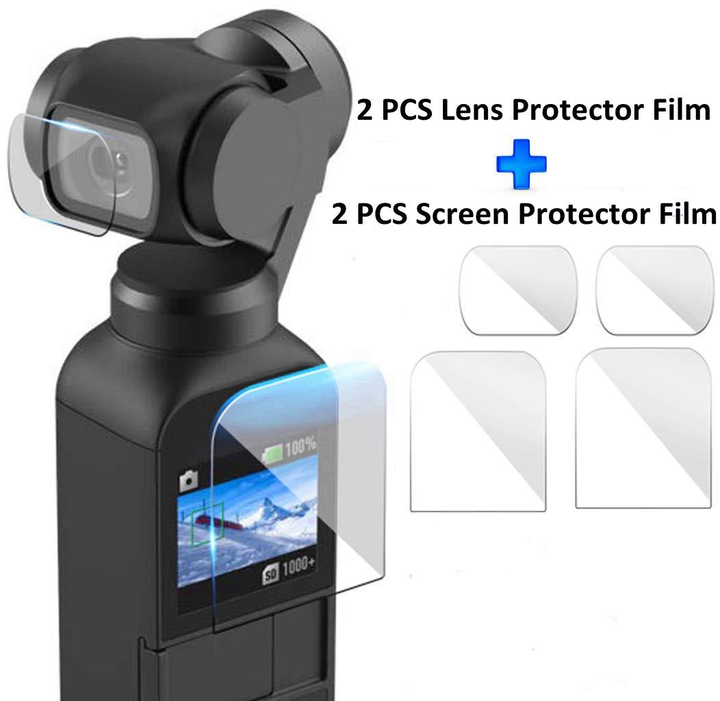 Haoun DJI OSMO ポケット用アクセサリー, 163663898615 B07LG533ZN Screen Protector Film Screen Protector Film