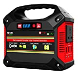 INSTABOOST Portable Generator Power Station, 155Wh/42000mAh Rechargeable Lithium Battery Pack Inverter,outdoor UPS Power Source Charged Solar Panel/Wall Outlet/Car 110V AC,3 DC,3 USB Port