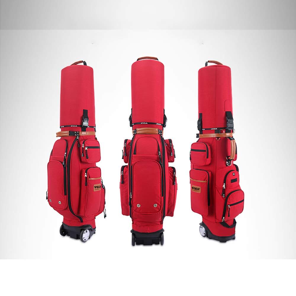 ゴルフカートバッグ, タグボート付き, ゴルフクラブを運ぶ, 50 * 16.93 * 10.63 インチカートゴルフバッグ  A B07PM35PJC