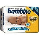 Pañales Bambino Recién Nacido T1 50 uds: Amazon.es: Salud y cuidado ...