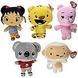 Ty Nihao, Kai-lan Set of All 5 Beanie Babies