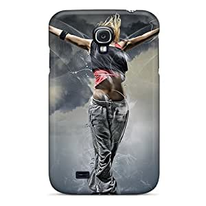 Galaxy Case - Tpu Case Protective For Galaxy S4- Dance Girl