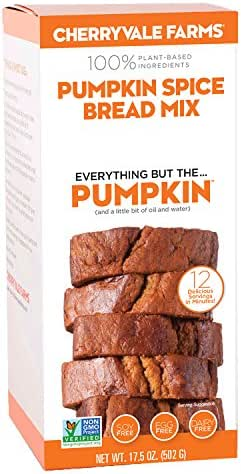 Baking Mixes: Cherryvale Farms Pumpkin Spice Bread