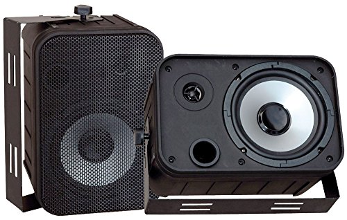Pyle PDWR50B 6 5 Inch Waterproof Speakers