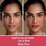 Lakme 9 to 5 Weightless Mousse Lip & Cheek Color, Plum Feather, 9 g