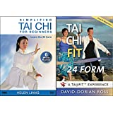 Tai Chi Bundle: Tai Chi 24 Form by Helen Liang and David-Dorian Ross (YMAA) Tai Chi 24 Form Exercises for Beginners