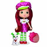 "Strawberry Shortcake 6"" Fashion Doll with Pet - Strawberry Shortcake with Pupcake"