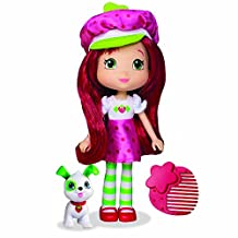 "Strawberry Shortcake 6"" Fashion Doll with Pet - Strawberry Shortcake with Pupcake"