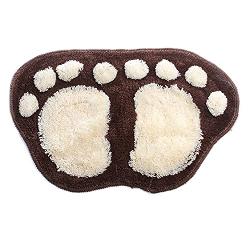 absorbent-soft-flocking-carpet-bathroom-bedroom-floor-shower-mat-rug-non-slip-brown