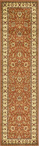 Unique Loom 3123575 Agra Runner Area Rug, 2'7