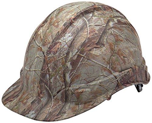Pyramex Hydro Dipped Ridgeline Hard Hat, Matte Camo Pattern, Cap Style 4 Pt Ratchet Suspension ()