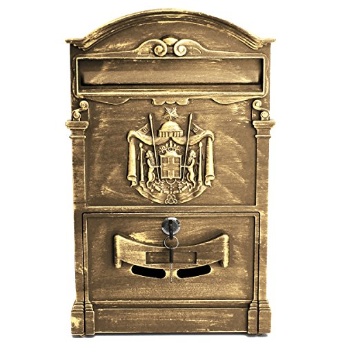 KINGSO Outside Lockable Letterbox 41x25x8cm