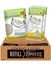 Purina Tidy Cats Cat Litter Box Accessories, Breeze Refill Litter Pellets & Cat Pads Multi Cat Litter - 7.91 lb. Box