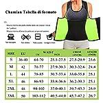 Chumian-Tuta-Sauna-Dimagrante-Donna-Corsetto-Vita-Neoprene-Sudore-Sportiva-Gilet-Fitness-Canotta-Snellente-Body-Shaper
