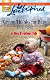 Giving Thanks for Baby, Terri Reed, 0373874561