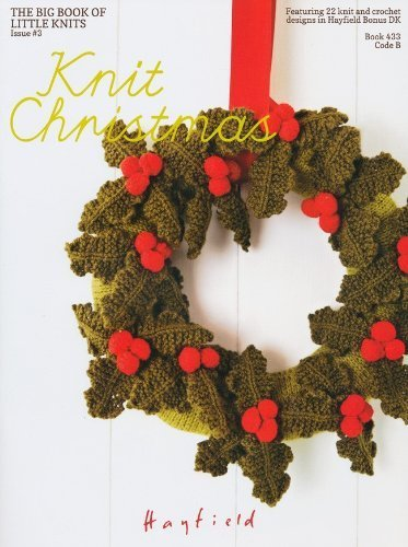 Sirdar Hayfield Knitting Pattern Book 433 Knit Christmas Lots Of