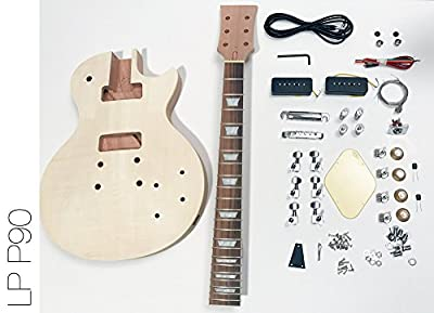 DIY Electric Guitar Kit Singlecut P90 Build Your Own Guitar Kit