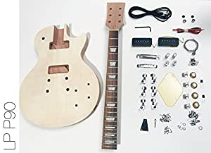 DIY Electric Guitar Kit LP P90 Build Your Own Guitar Kit