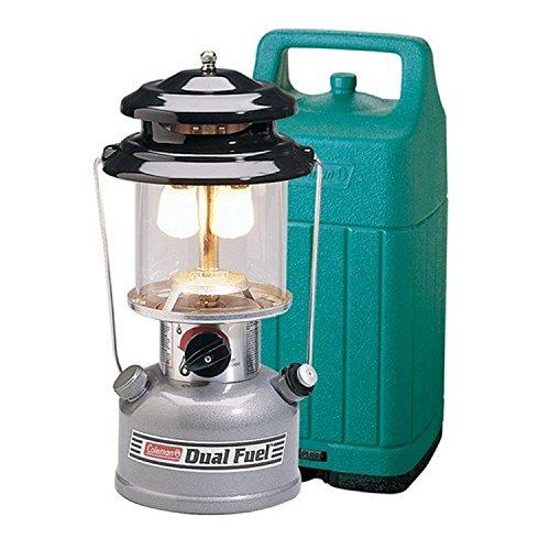 Dual Lanterns - Coleman Premium 700 Lumens Dual-Fuel Camping Lantern with Case (Renewed)