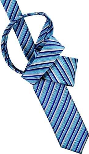 Peargo Men's Tie 8 CM Clear Sky