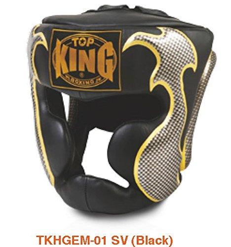 最先端 トップキング TOP KING 黒銀 キックボクシング KING ヘッドギア タトゥ 黒銀 トップキング Sサイズ B00RB6M5E0, エコバンク:f4c1c74f --- a0267596.xsph.ru