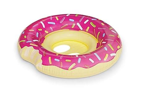 Sucastle Hinchable Donut, Flotador Colchoneta Hinchable de Piscina, Fiesta Inflable de los Adultos del