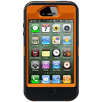 Otterbox Defender Realtree Series Case & Holster for iPhone 4 & 4S - Retail Packaging Protective Case for iPhone - Blaze Orange/AP Camo Pattern (Discontinued by Manufacturer)