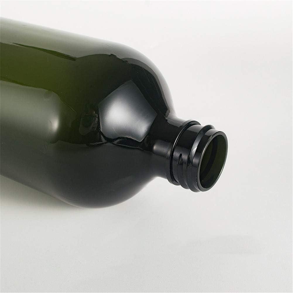shuxuanltd Botes Viaje Avion Botes Viaje Dosificador Jabon Ba/ño Dispensador Jabon Ba/ño para La Familia Y El Viaje Maquillaje De La Botella De La Bomba Botella De Bomba A Prueba De Fugas Green,500ml