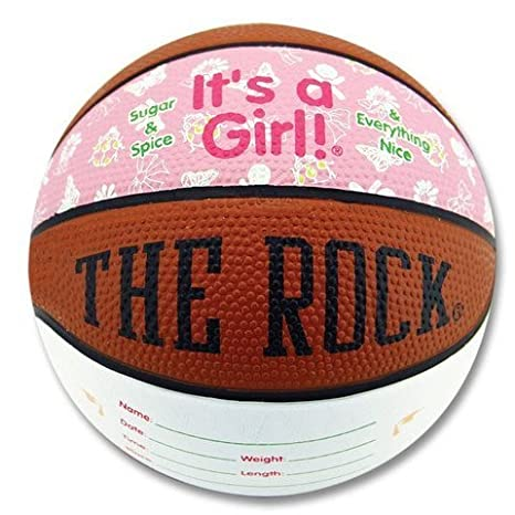 For Baby Shower Gift or Keepsake It/'s a Baby Boy Mini Basketball