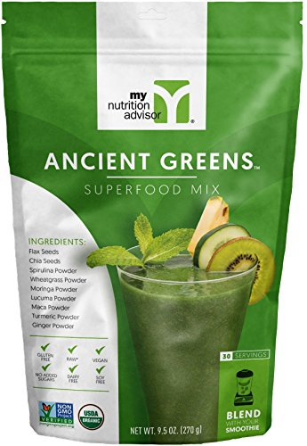 Ancient Greens Superfood Smoothie Mix  30 Servings