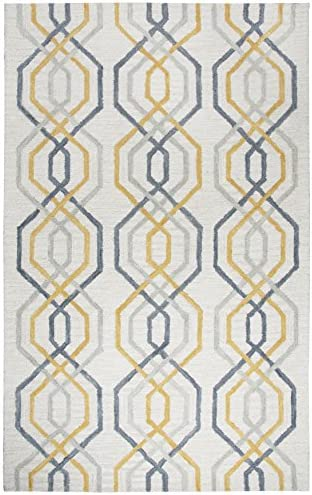 Rizzy Home Lancaster Collection Wool Area Rug