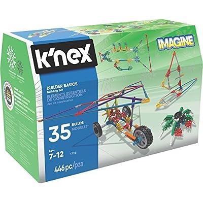 K'nex Builder Basics 35 Model Building Set: Toys & Games
