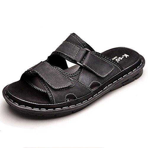 Trascinare Fresco Le Pantofole di Moda Slip Resistant Maschio Scarpe Outdoor Color BeachEscursioni Casual Sandali Pantofole HUAHUA Indossare La da Estate Parola Cool Spiaggia 1 nq41X1
