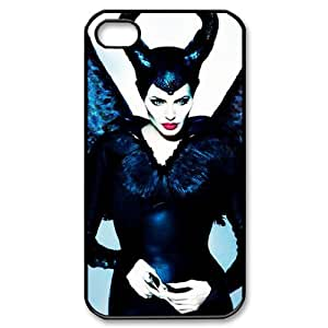 Angelina Jolie Personalized 2D Cover Case for Iphone 4,4S at DLLPhoneCase ( DLL478714 )