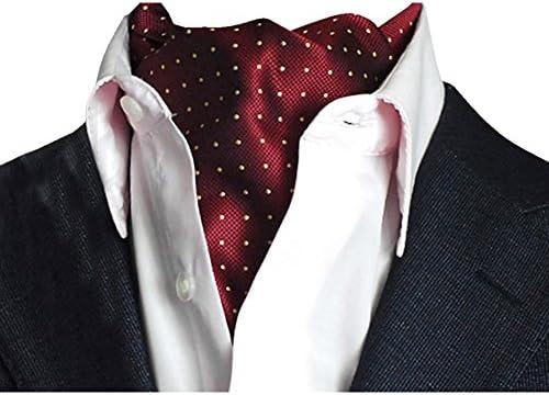 YCHENG Pañuelo Hombre Corbatas Moda Lunares Cravat Chalina para ...