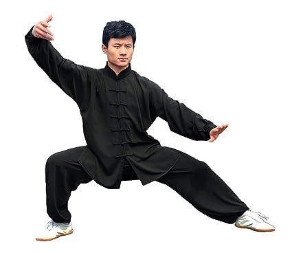 Bitablue Unisex Chinese Martial Arts Tai Chi Uniform (Clothing) Black