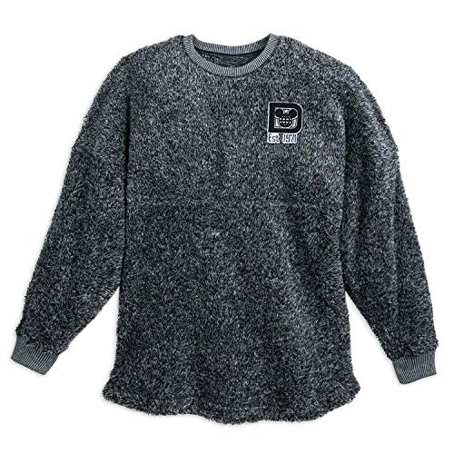(DisneyParks Walt Disney World Fuzzy Spirit Jersey for Women (Small) Grey)