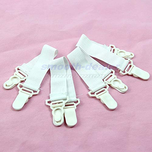 Clothes Pegs - 4 Pcs Fitted Bed Sheet Holder Anti Slip Grip Mattress Gripper Clip O11 - Container Plastic Clothes Pins Hooks Hanging Hanger Small Colored Socks Steel Clips Wood Bamboo Pegs St