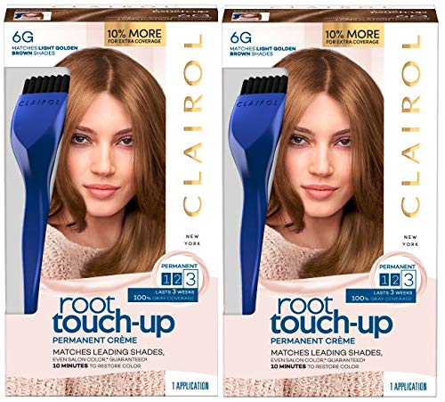 (Clairol Nice N' Easy Root Touch Up, 006g, Light Golden Brown, 2)