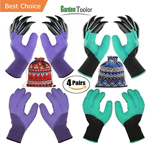 Where to find gardening gloves with claws size small?